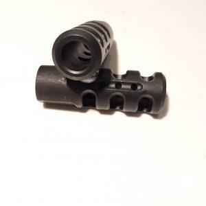5/8 x 32 Muzzle Device 5/8 x 32 Muzzle Brake Big Bore muzzle device Big Bore Muzzle Brake AR-15 Parts and accessories AR-15 Complete Upper Receivers .458 Socom 450 Bushmaster 6.5 Grendel